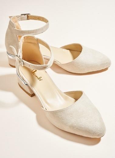 Bambi Topuklu Ayakkabı Ten